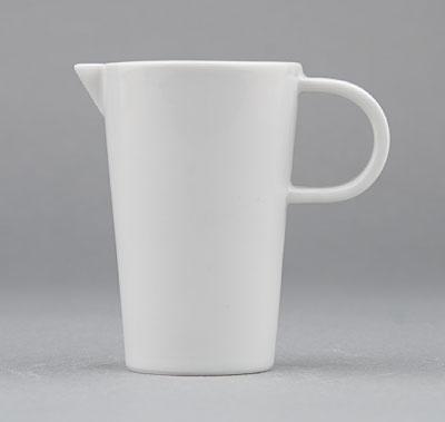 Mlékovka porcelánová bílá Hotelová 0,075l Český porcelán Bohemia 1.jakost