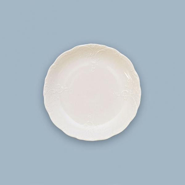 Miska nízká porcelánová bílá Opera 16 cm Český porcelán Dubí