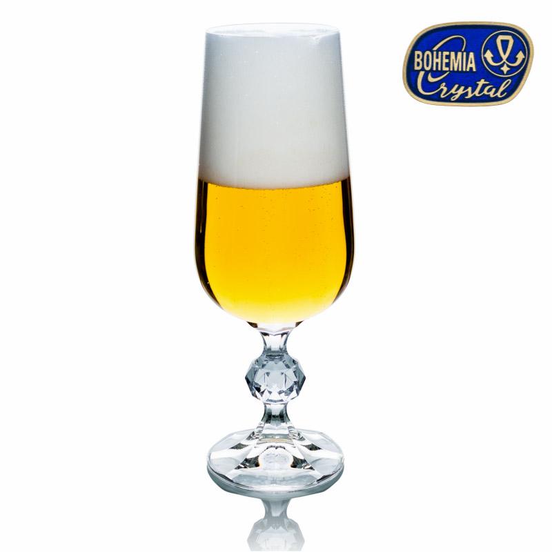 Skleničky na pivo Claudia 280 ml 6 ks Crystalex CZ