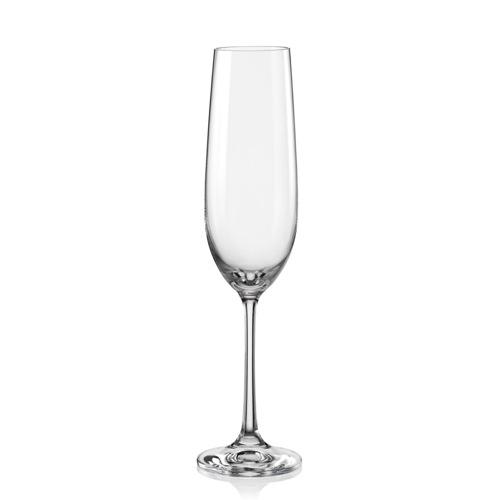 Sklenice na víno šampaňské Viola 190 ml 1 ks Crystalex CZ