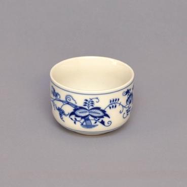 Cukřenka bez oušek 0,20 l - tělo - originální cibulákový porcelán Dubí, cibulový vzor 1. jakost