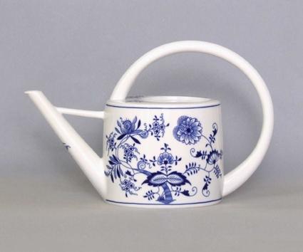 Cibulák konev zahradni 1,7 l originální cibulákový porcelán Dubí, cibulový vzor 1. jakost