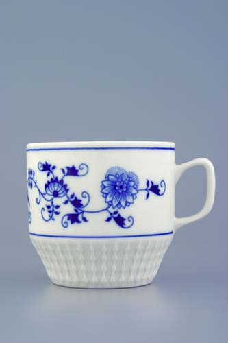 Cibulák 6 ks hrnek Fuji Akce 5 ks + 1 ks zdarma originální cibulákový porcelán Dubí, 1.jakost