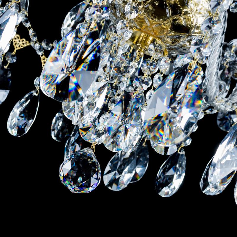 Křišťálový lustr Dew 6 Aldit sro
