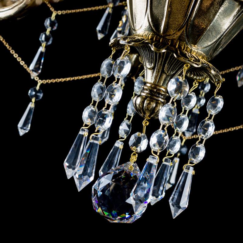 Křišťálový lustr Snehurka 8 Aldit sro