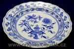 Cibulák mísa kulatá hluboká 28 cm originální cibulákový porcelán Dubí, cibulový vzor, 1.jakost