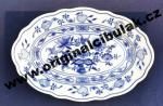 Cibulák mísa oválná 20 cm, originální cibulákový porcelán Dubí, cibulový vzor, 1.jakost