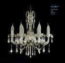 Křišťálový lustr Flora 6 Aldit sro